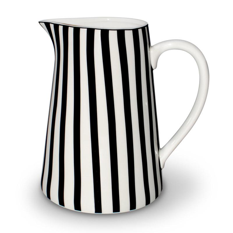 Porcelain Jug Design Aspegren Denmark Paloma Black