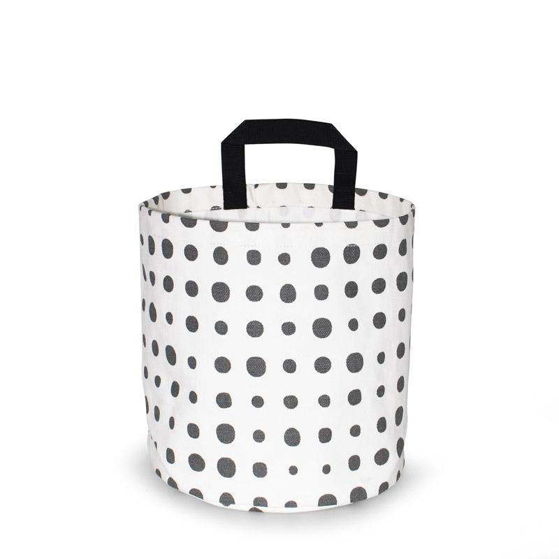 Storage Basket Small Design Pearl Gray