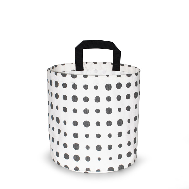 Storage Basket Small Design Pearl Gray