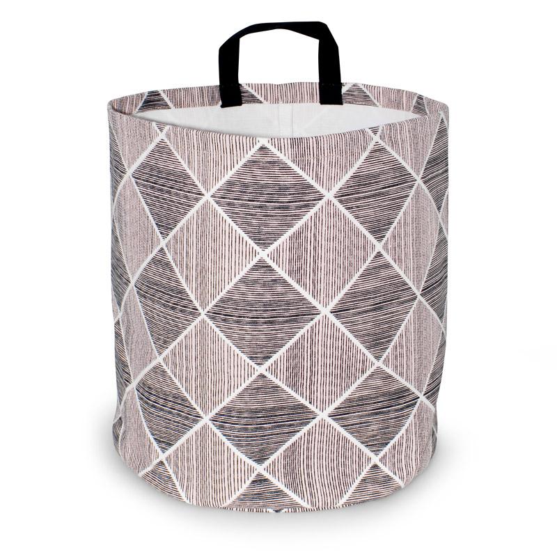 Storage Basket Large Design Pine Rose