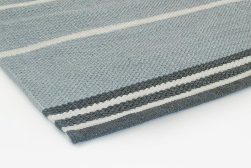 Gulvløber Design Aspegren Denmark Java Misty Blue 70x130