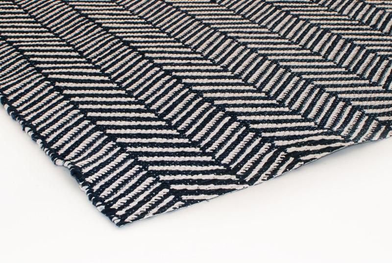 Gulvløber PVC Design Aspegren Nova Black 70x130