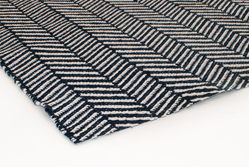 Gulvløber PVC Design Aspegren Nova Black 70x200