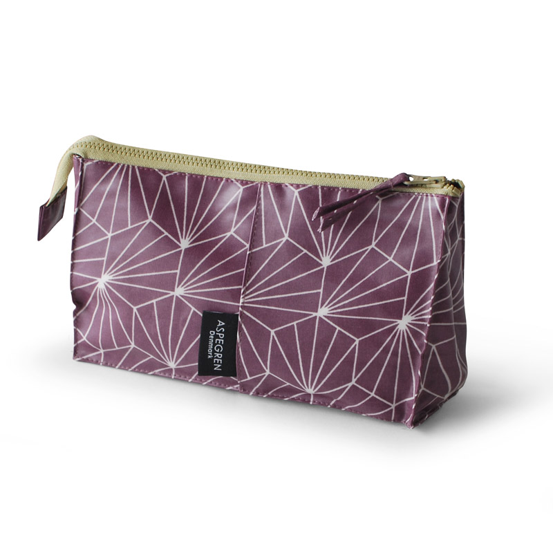 Makeup Bag Design Aspegren Shell Ruby Red
