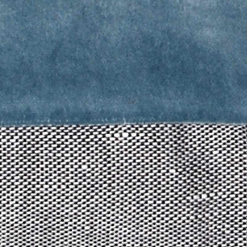 Pude Velour Design Aspegren Solid Blue Shadow