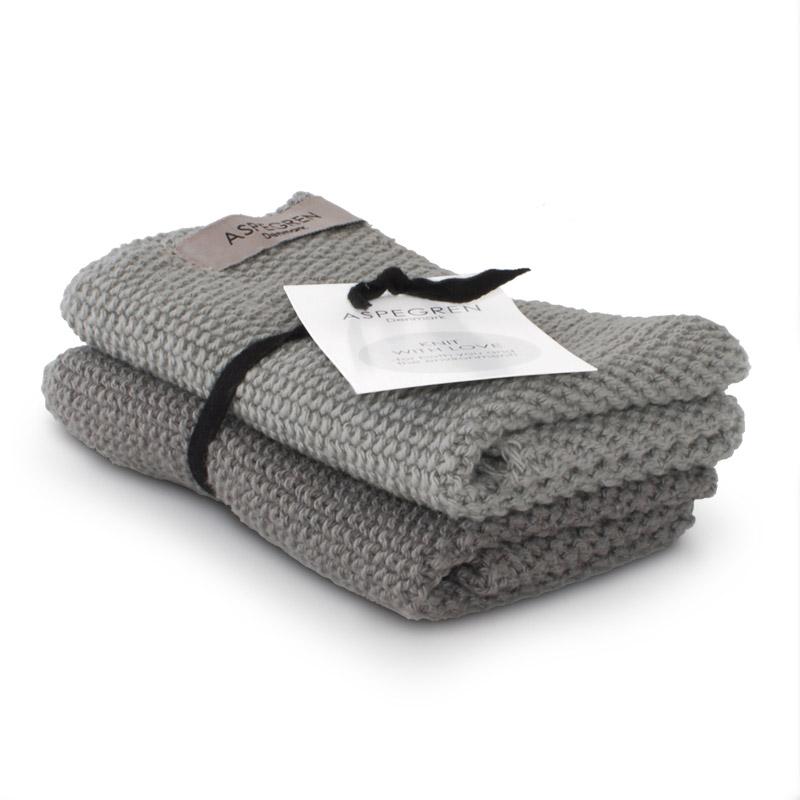 Karklud Strik Design Aspegren Solid Gray