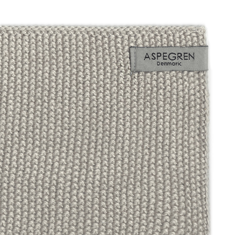 Aspegren-dishcloth-knitted-solid-sand-3351-closeup-2-web