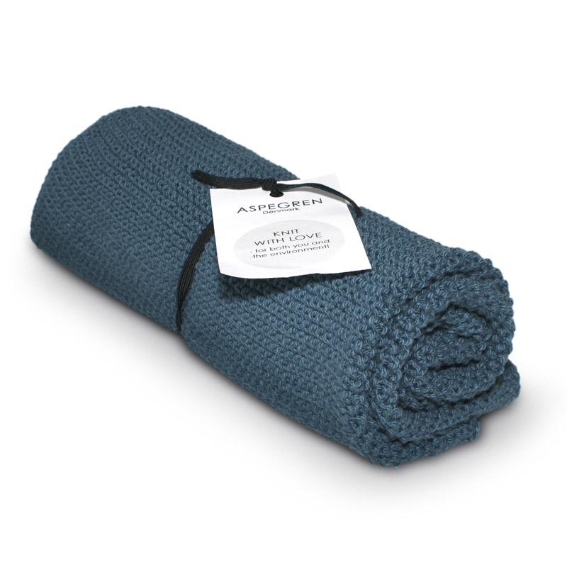 Køkken håndklæde Design Aspegren Solid Blue Heaven