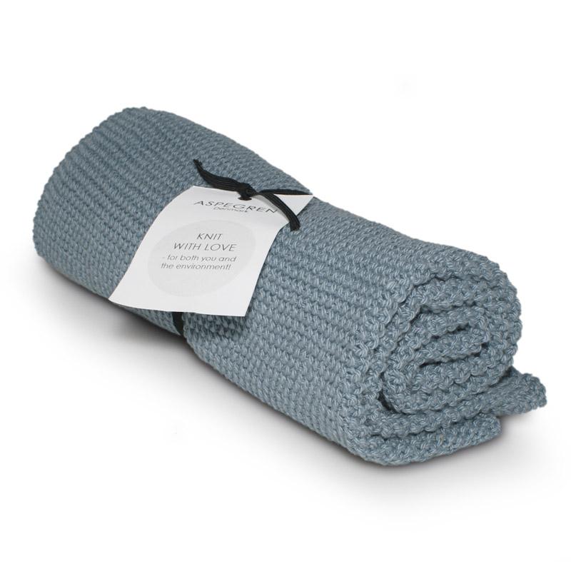 Køkken Håndklæde Design Aspegren Solid Dusty Blue