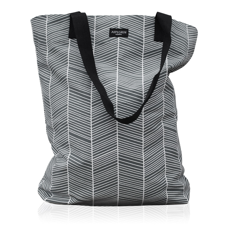 Bag Design Aspegren Herringbone Dark Gray