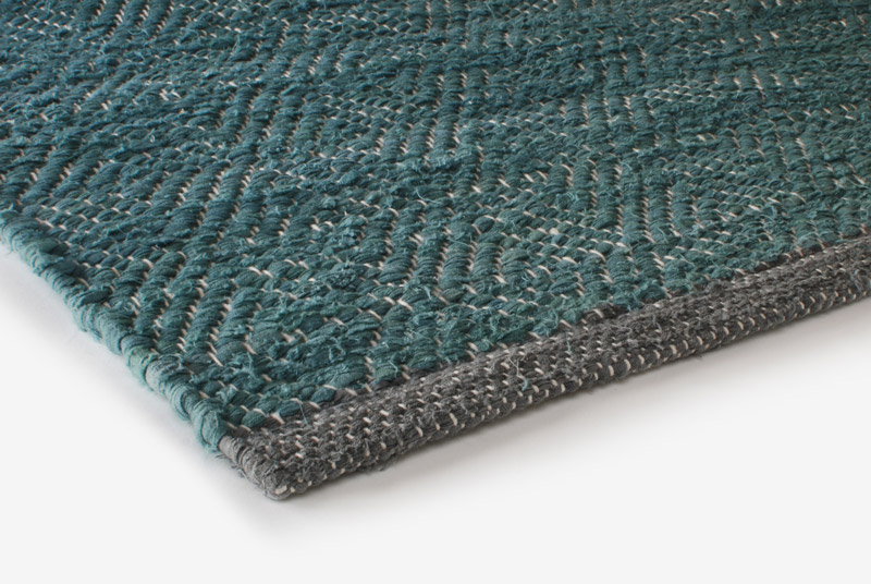 Rag Rug Design Aspegren Chia Green 70x130