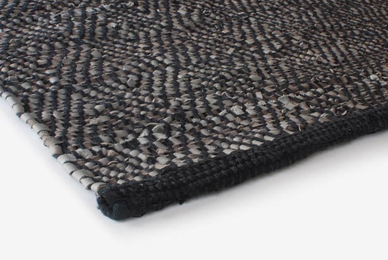 Gulvløber Leather Design Aspegren Chia Gray 70x130