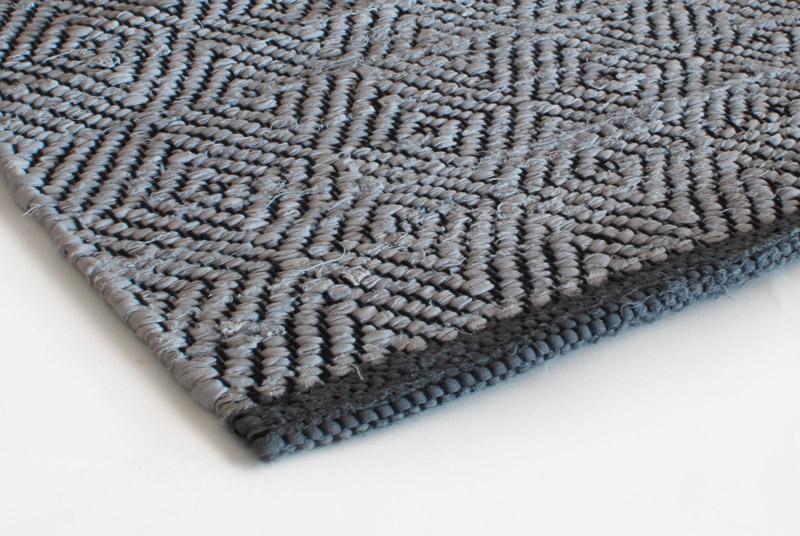 Rag Rug Design Aspegren Chia Gray 70x130