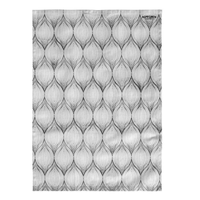 Tea Towel Design Aspegren Onion White