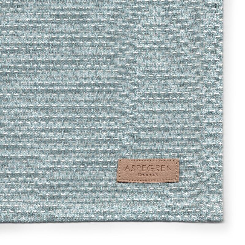 Viskestykker Design Aspegren Waffle Dusk Blue