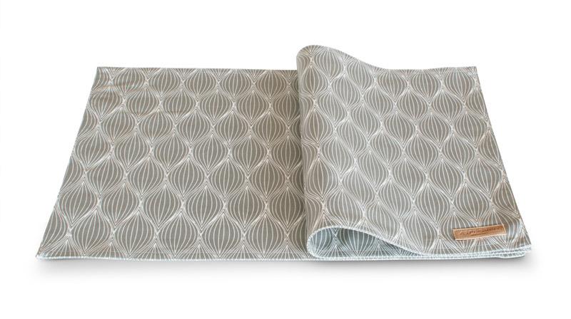 Dækkeserviet Design Aspegren Onion Light Gray