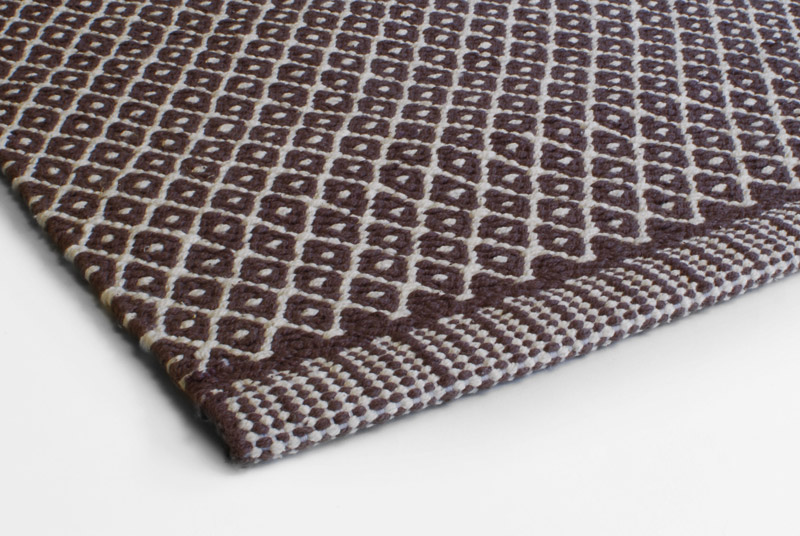 Rugs Design Aspegren Rhombe Brown