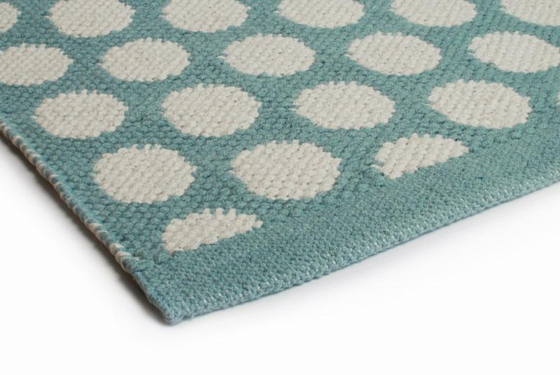 Teppich Design Aspegren Spot Sea Green
