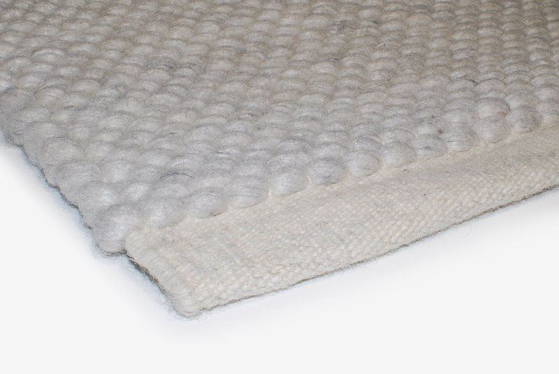 Teppich Wolle Design Aspegren Almond Nature