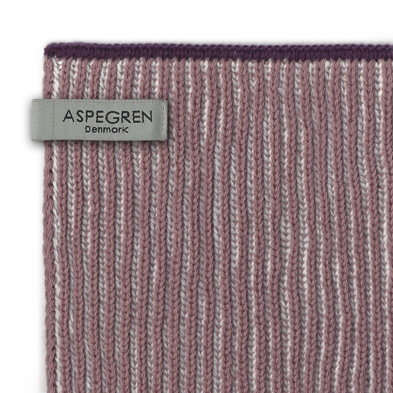 Aspegren-dishcloth-knitted-lamella-mauve-dark-3579-closeup-web