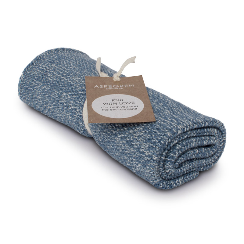Kichen Towel Design Aspegren Blend Blue Light
