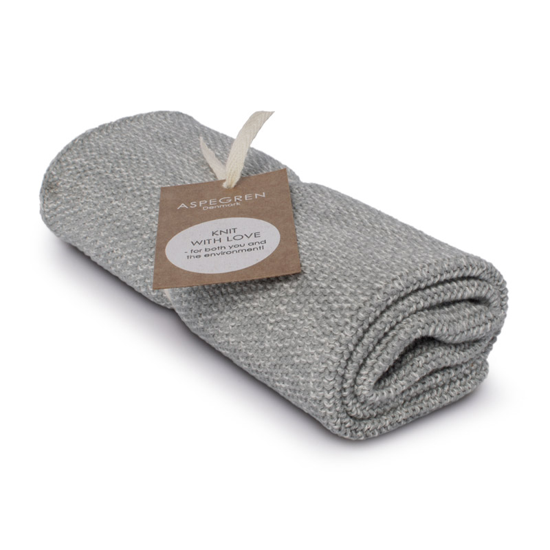 Kichen Towel Design Aspegren Blend Gray Light