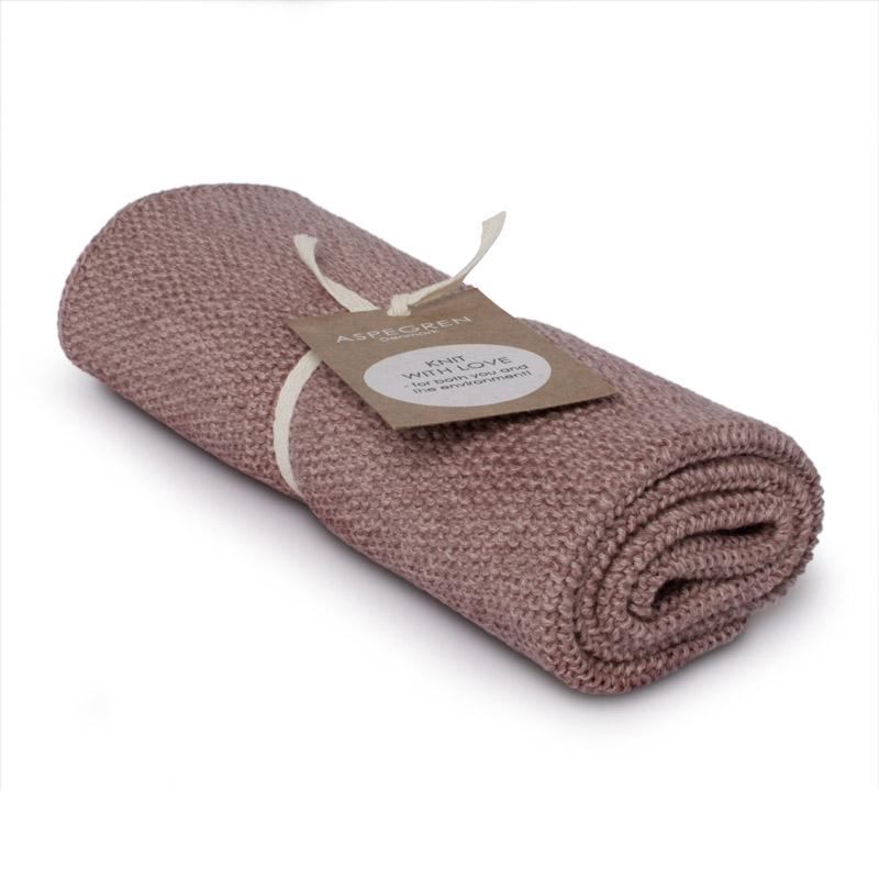 Kichen Towel Design Aspegren Blend Mauve Dark