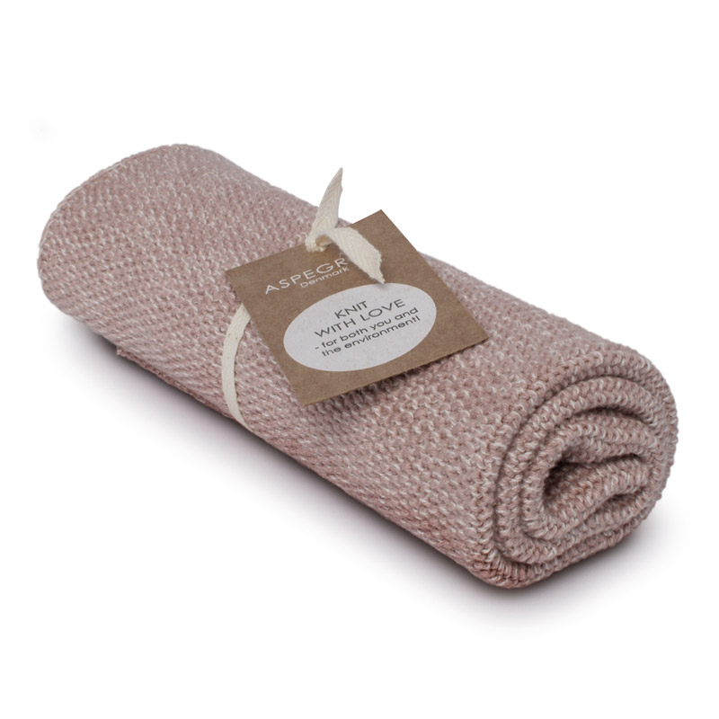 Kichen Towel Design Aspegren Blend Mauve Light