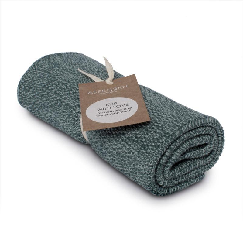 Kichen Towel Design Aspegren Blend Seagreen Dark