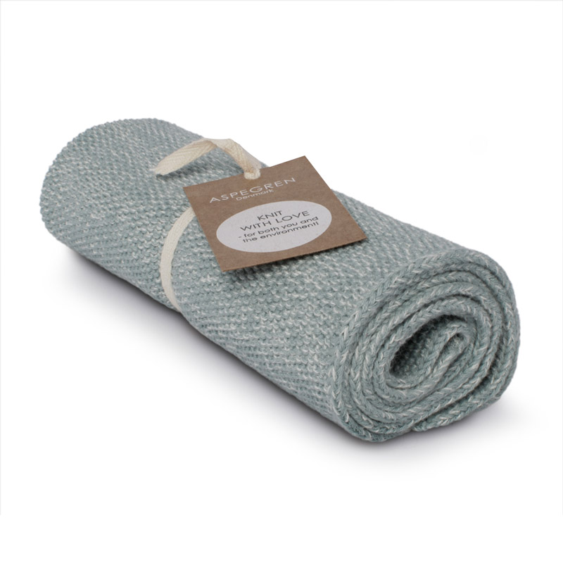 Kichen Towel Design Aspegren Blend Seagreen Light