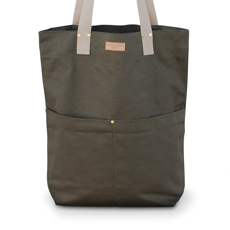 Canvas Bag Design Aspegren Mano Olive