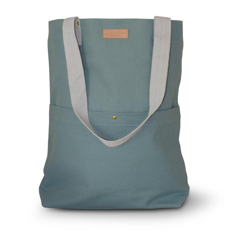 Einkaufstaschen Leinwand Design Aspegren Mano Jade