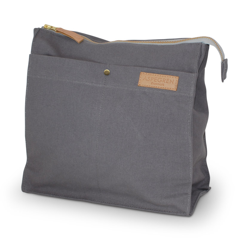 Toiletbag Large Design Aspegren Mano Dark Gray