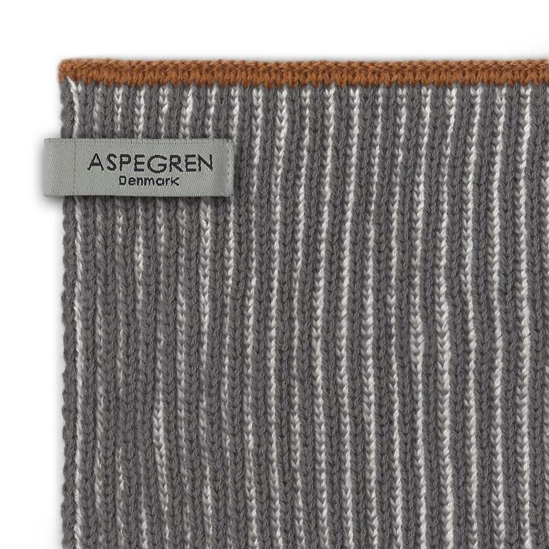 Køkken Håndklæde Design Aspegren Lamella Dark Gray