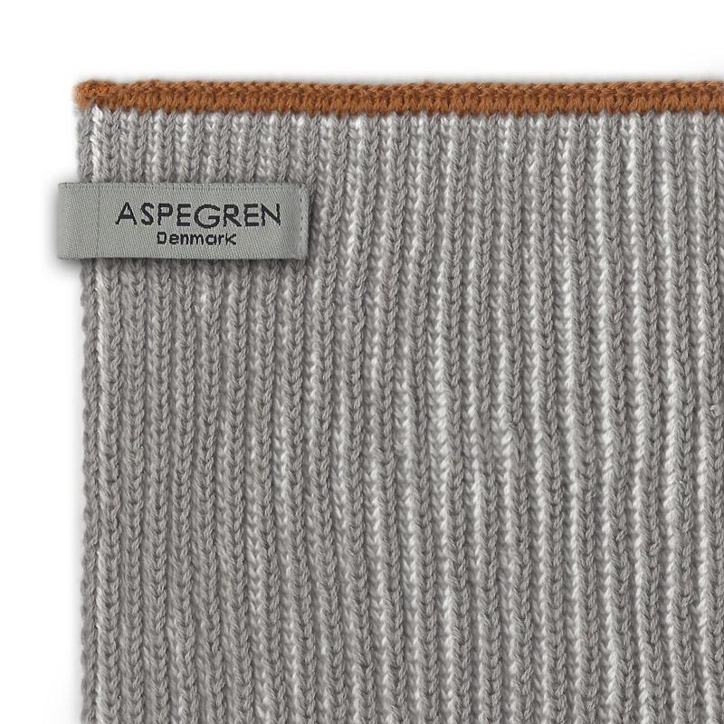 Køkken Håndklæde Design Aspegren Lamella Light Gray