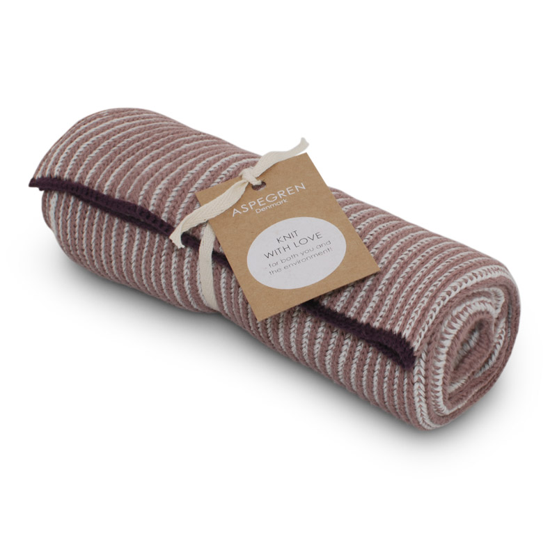 Kitchen Towel Design Aspegren Lamella Mauve