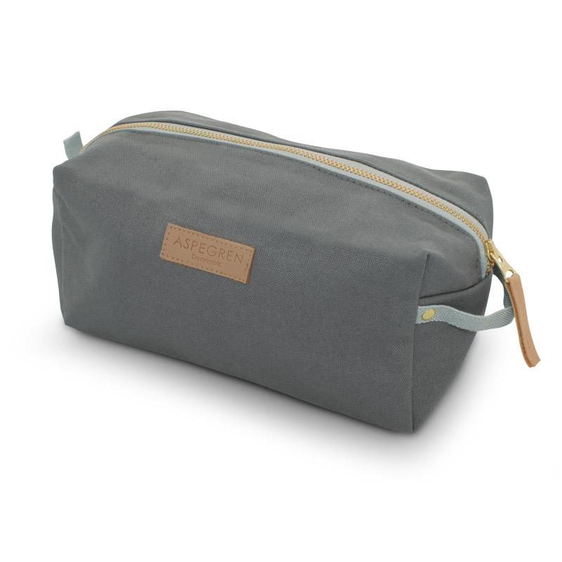 Box Kosmetiktasche gross Design Aspegren Mano Gray