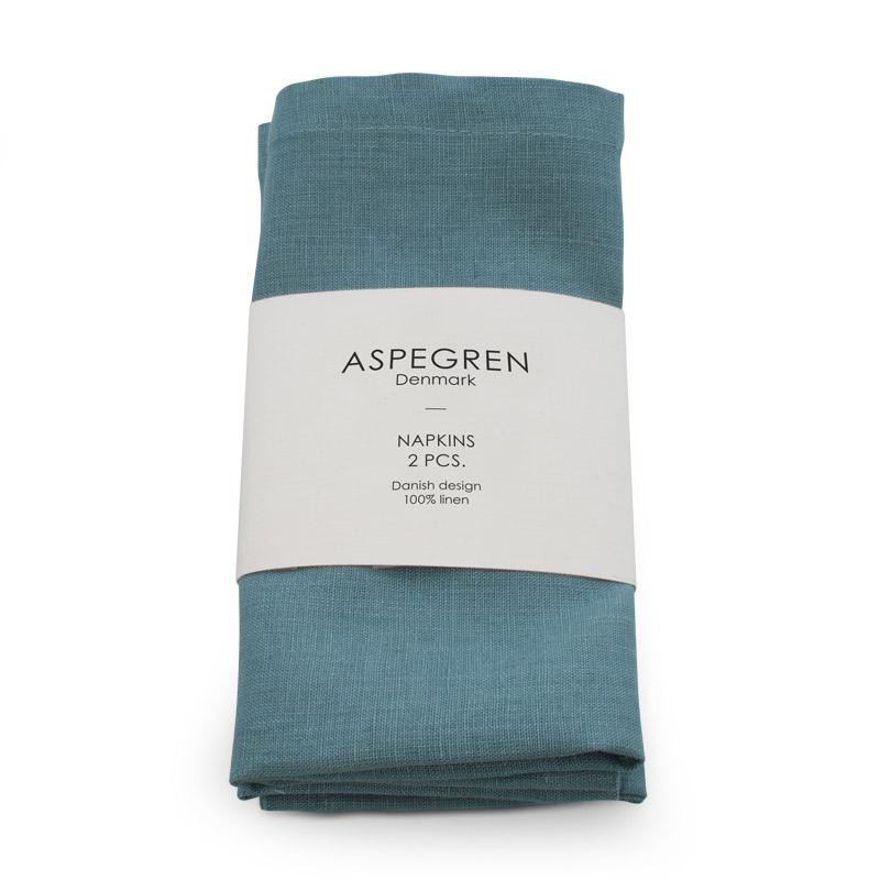 Napkin Linen Design Aspegren Stormy Sea