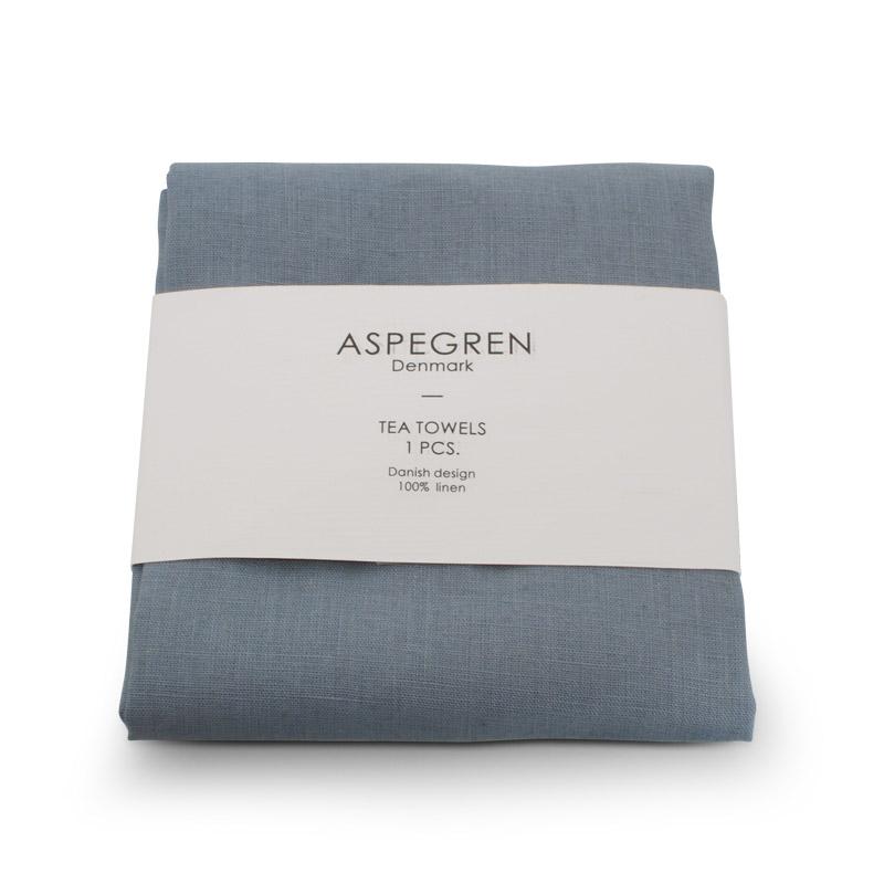 Viskestykker Hør Design Aspegren Dearm Blue