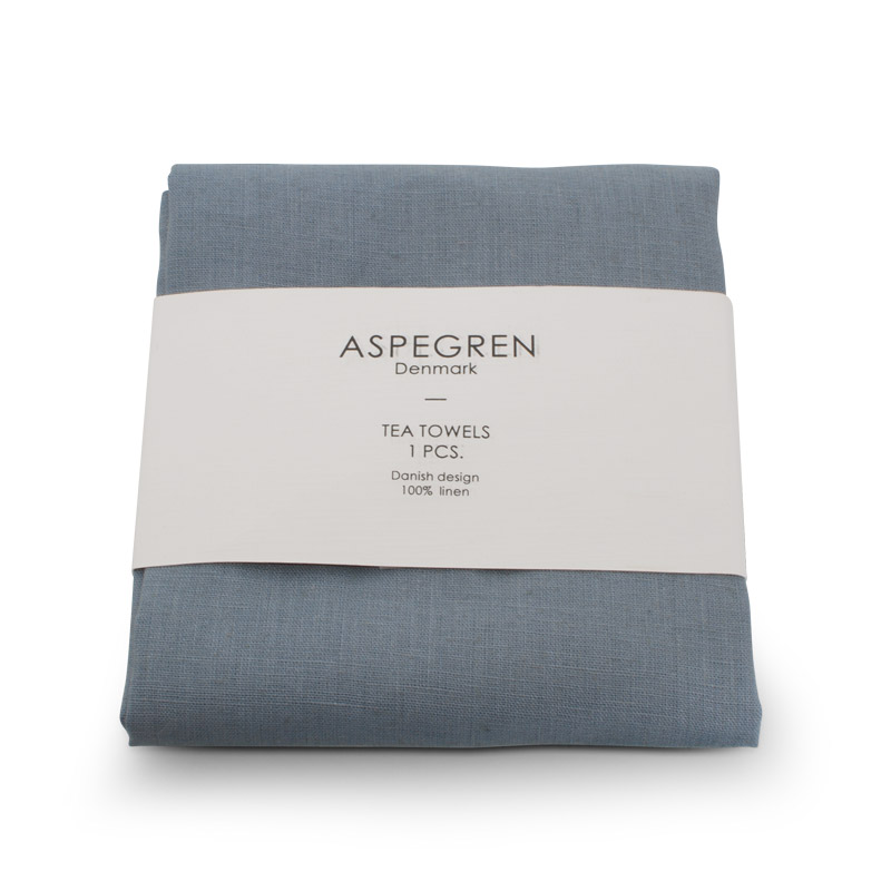 Tea Towel Linen Design Aspegren Dearm Blue