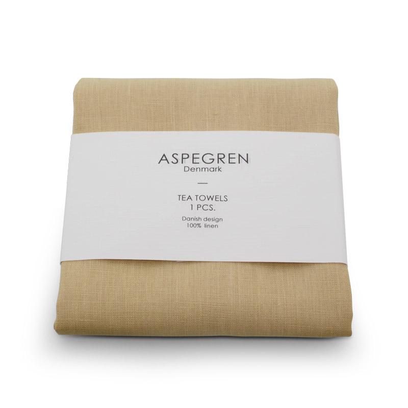 Viskestykke Hør Design Aspegren Honey