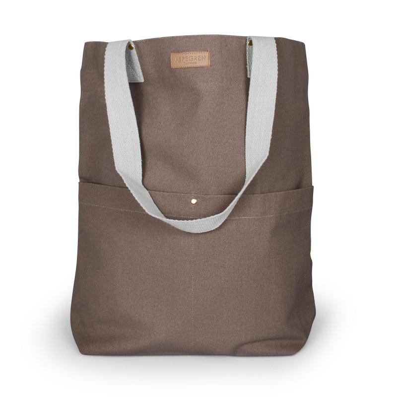 Canvas bag Design Aspegren Mano Wood