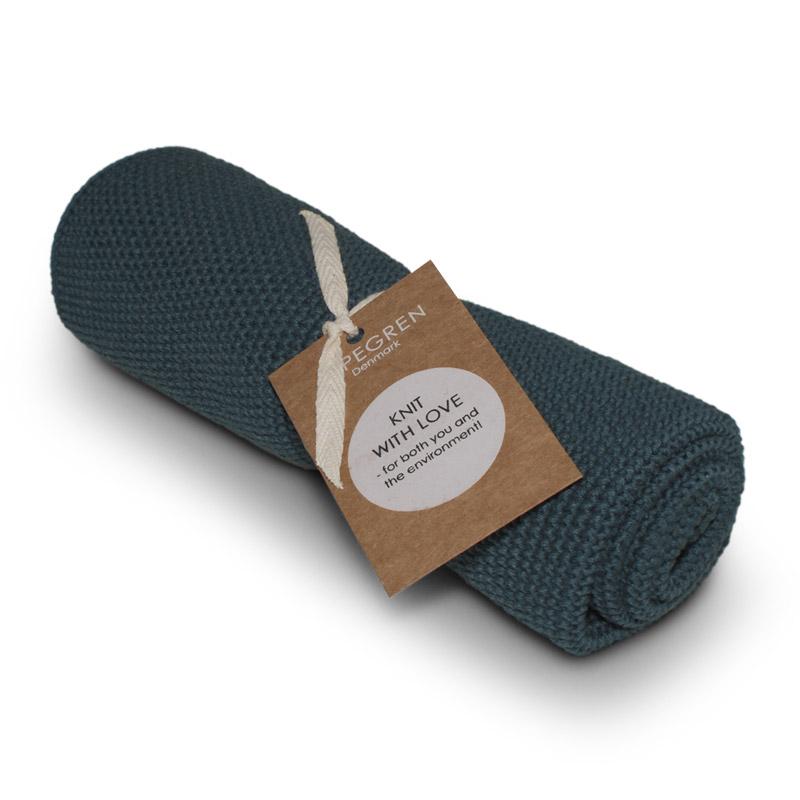 Køkken Håndklæde Design Aspegren Solid Indigo