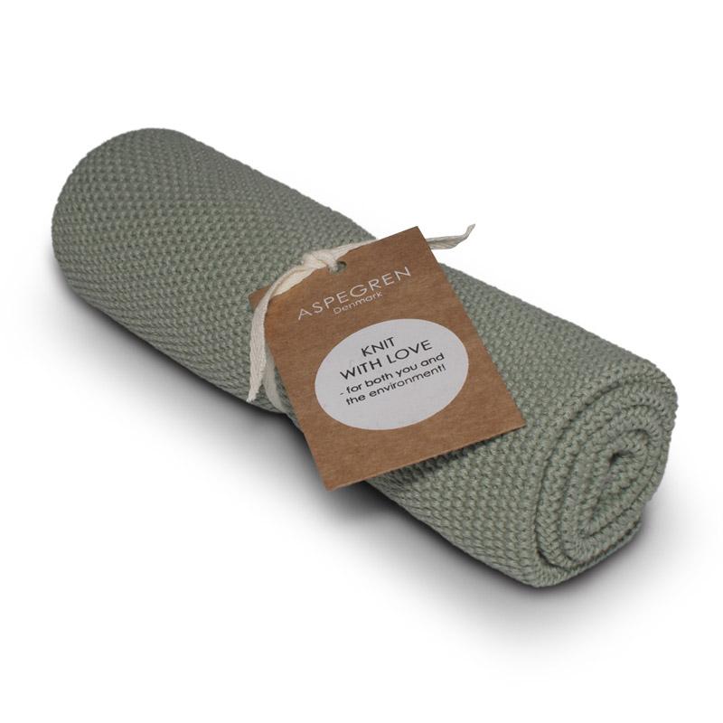 Handtuch Gestricktes Design Aspegren Solid Mint