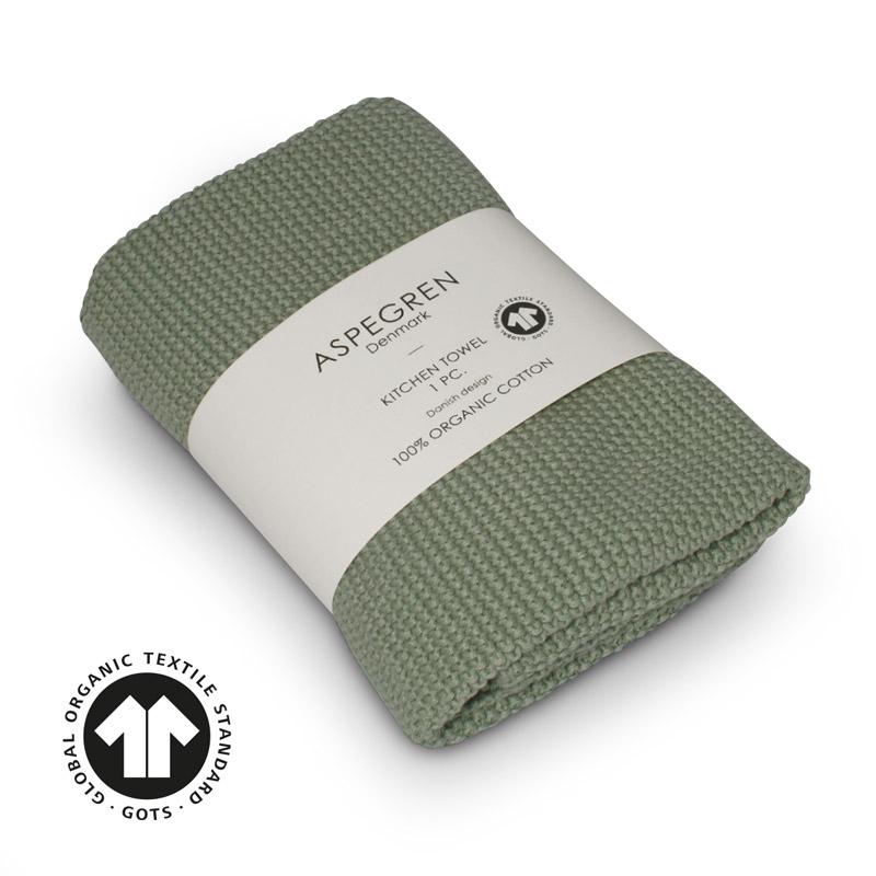 Køkken Håndklæde Design Aspegren Solid Mint