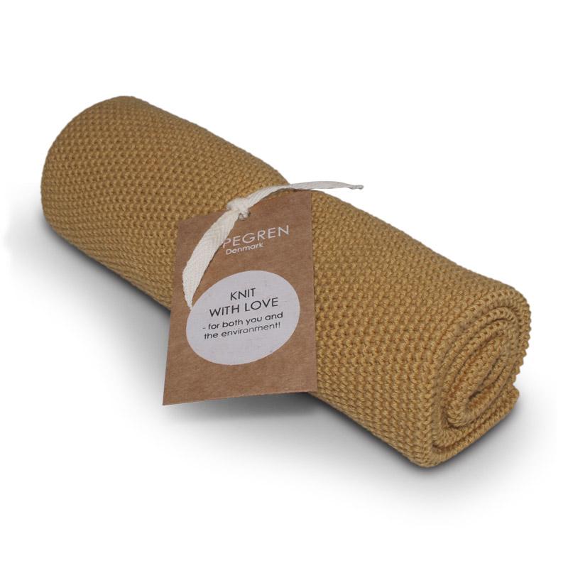 Køkken Håndklæde Design Aspegren Solid Mustard