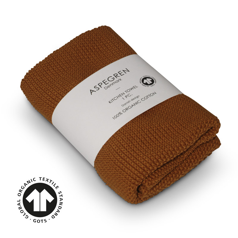 Køkken Håndklæde Design Aspegren Solid Pumpkin