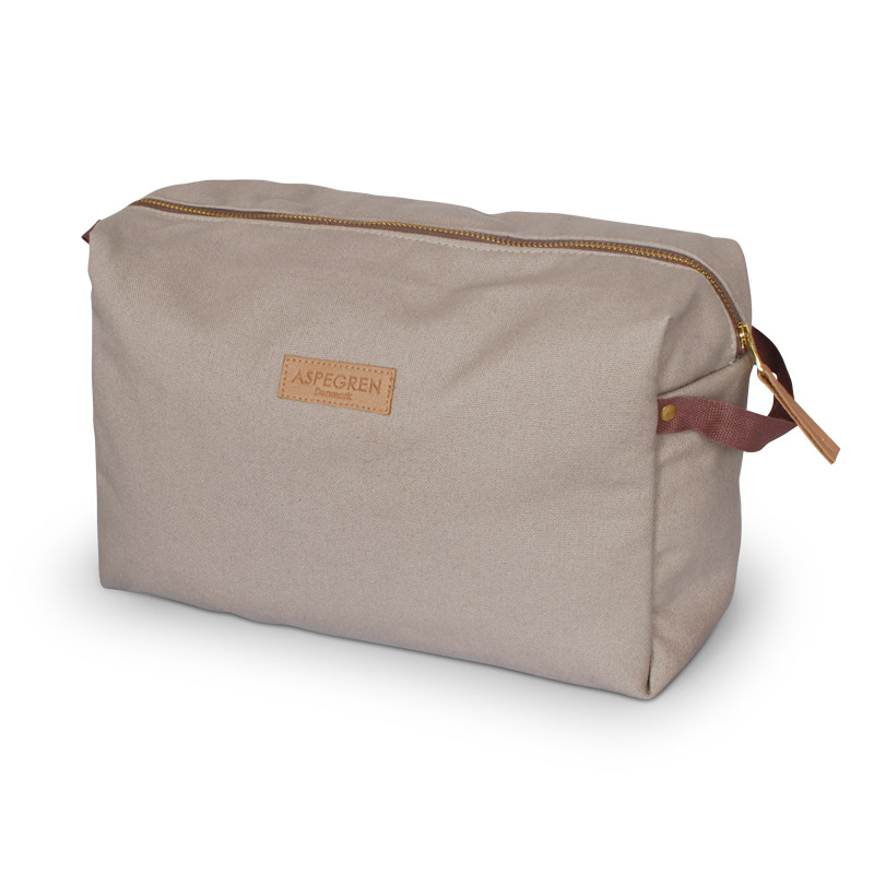 Box Kosmetiktasche Large Design Aspegren Mano Khaki
