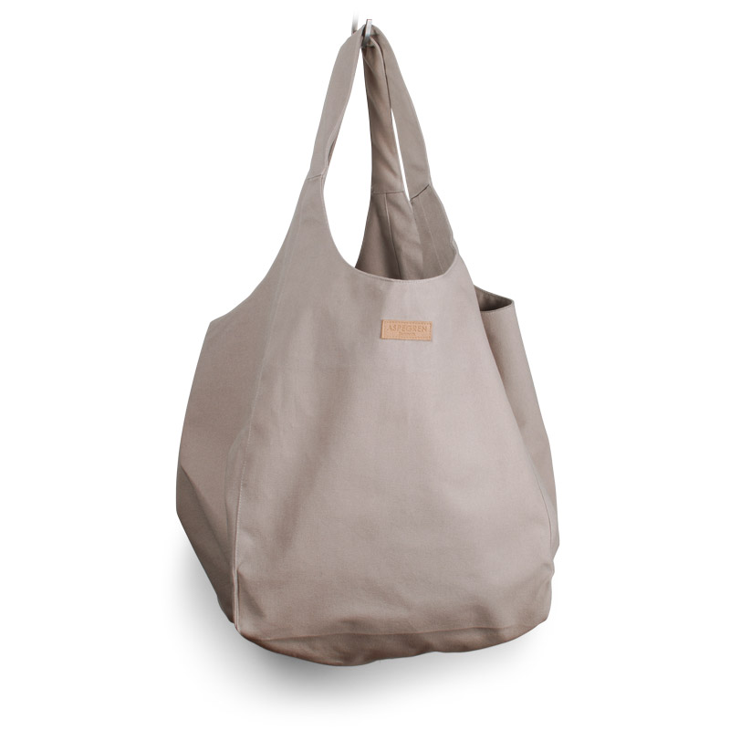 Canvas bag Tote Design Aspegren Mano Khaki