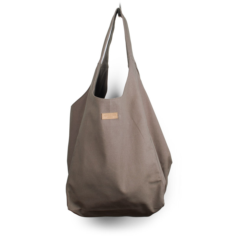 Canvas bag Tote Design Aspegren Mano Wood